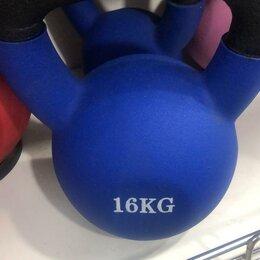 Аксессуары для силовых тренировок - Гиря 16кг, 0