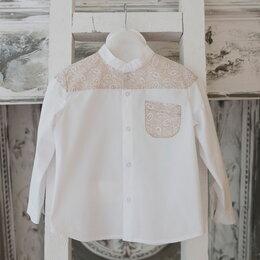 Рубашки - Новое в упаковке. Рубашечка с латочками.…, 0