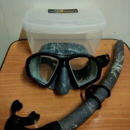 Маски и трубки - Набор. Маска и трубка Aquadiscovery Calcan Grey., 0
