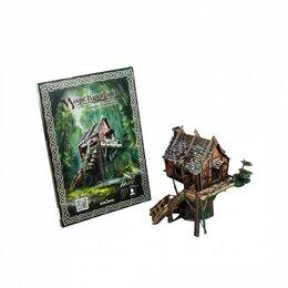 Сборные модели - Хижина Отшельника (Сборная игрушка из картона), 0