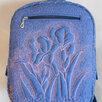 """рюкзак ручно работы """"Ирисы""""(работа на заказ) по цене 3000₽ - Рюкзаки, фото 0"""