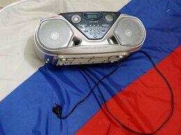 Музыкальные центры,  магнитофоны, магнитолы - CD/кассетная магнитола Philips (дам проверить) , 0