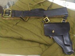 Ремни и пояса - Оригинальный кожаный ремень с кобурой для офицера+, 0