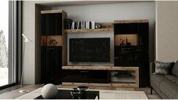 Шкафы, стенки, гарнитуры - Гостиная Бастон дуб делано в наличии, 0
