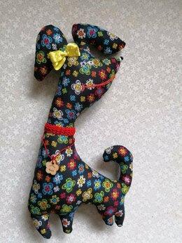 Сувениры - Собака текстильная  (собачка тильда, тильда…, 0