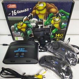 Игровые приставки - Sega Battletoads 140 игр (16 Bit), 0