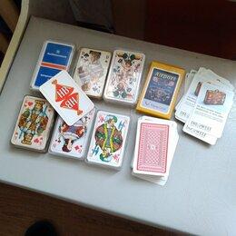 Настольные игры - Карты..новые.п/ пластик...цена за за 1 колоду, 0