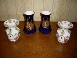 Статуэтки и фигурки - Фарфоровые подсвечники,вазы. Лфз, Германия, 0