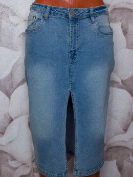Юбки - Юбка джинсовая , 0