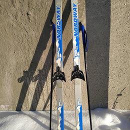 Беговые лыжи - Лыжи детские Nordway с палками, 0