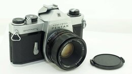 Пленочные фотоаппараты - Фотоаппарат Pentax Spotmatic с объективом Auto…, 0