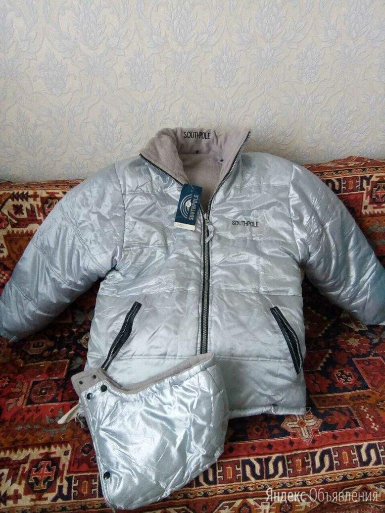 куртка мужская и женская Зимняя 2х сторонняя по цене 3000₽ - Куртки и пуховики, фото 0