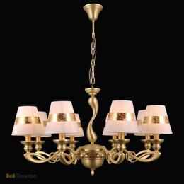 Люстры и потолочные светильники - Подвесная люстра Natali Kovaltseva 75004 75004/8C GOLD, 0