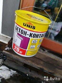 Строительные смеси и сыпучие материалы - Юнис Грунтовка бетоноконтакт, 0