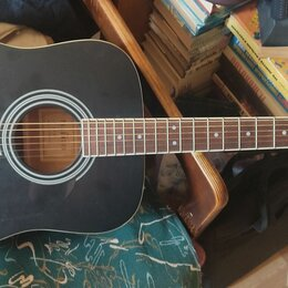 Акустические и классические гитары - Гитара Parkwood w81- bks, акустическая, дредноут, 0