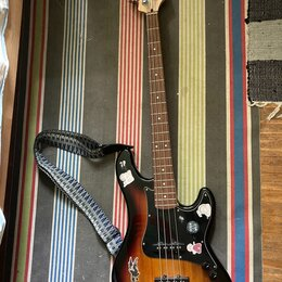 Электрогитары и бас-гитары - Бас-гитара CORT GB34JJ-3TS GB Series, 0