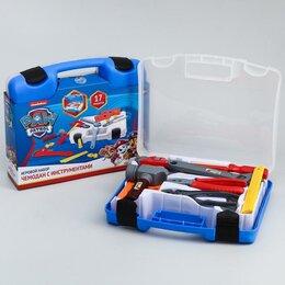 """Детские наборы инструментов - Игровой набор """"Чемодан с инструментами"""", Paw Patrol, 0"""