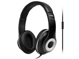 Компьютерные гарнитуры - Гарнитура для смартфонов SVEN AP-930M черный сереб, 0