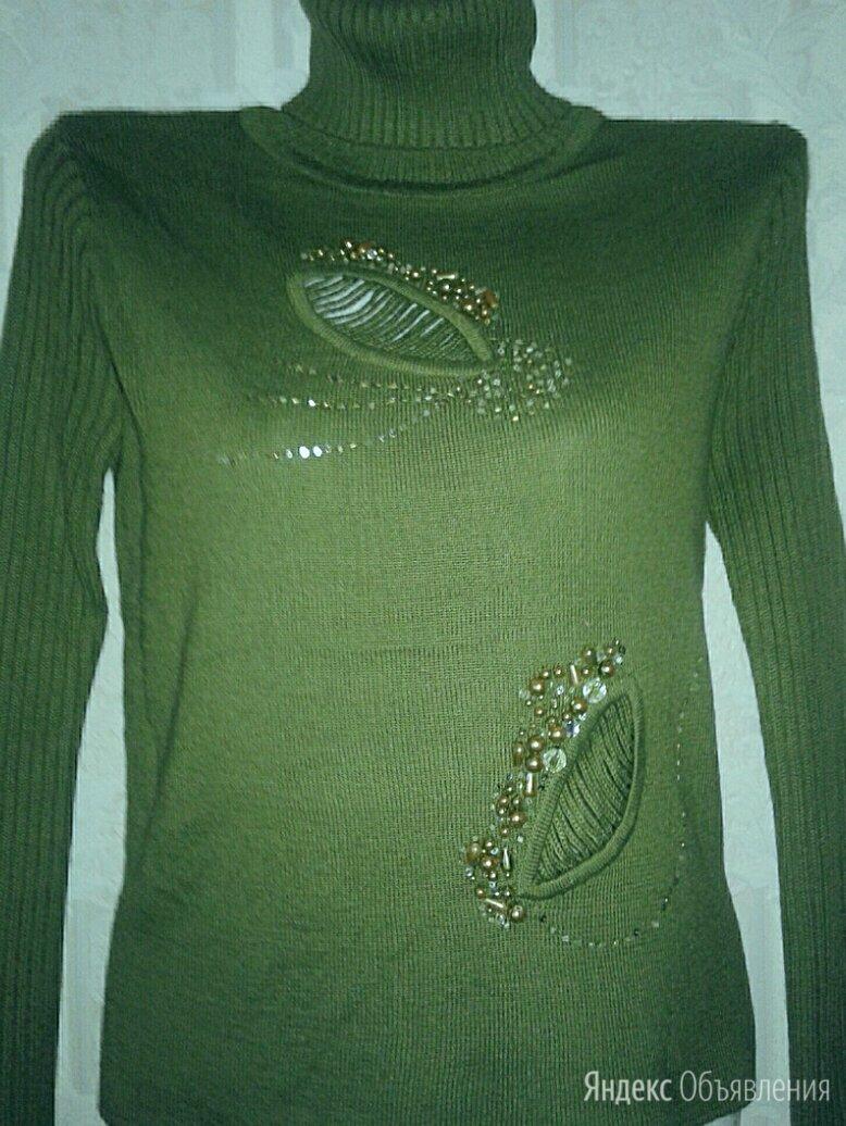 Красивый гольф-свитер по цене 3000₽ - Свитеры и кардиганы, фото 0