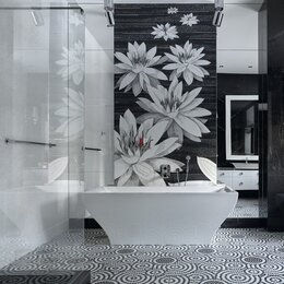 Мозаика - Мозаичное Панно В ванную, 0