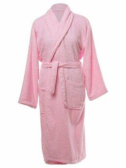 Домашняя одежда - Халат женский махровый, шалька ЭЛИТ Ярко-розовый…, 0