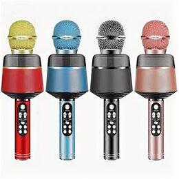 Микрофоны - Микрофон караоке с подсветкой (Qooo8), 0