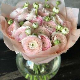 Цветы, букеты, композиции - Ранункулюсы цветы пионовидные, 0