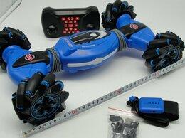 Радиоуправляемые игрушки - Машинка перевёртыш управление жестами Double…, 0