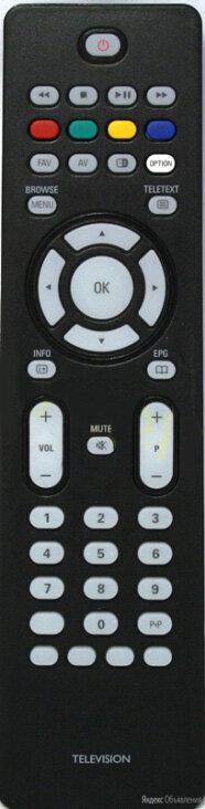 Пульт HUAYU к телевизоров PHILIPS RC-2034302/01 по цене 850₽ - Пульты ДУ, фото 0