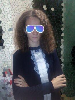 Комплекты и форма - Блузка школьная, 0