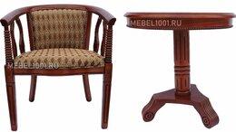 Стулья, табуретки - Чайное кресло В-5 из дерева, с подлокотниками.…, 0