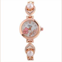 Наручные часы - Часы женские наручные с цветочным рисунком…, 0