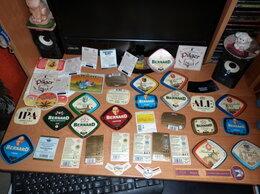 Этикетки, бутылки и пробки - Пивные этикетки, крышки и наклейки (631 штука), 0