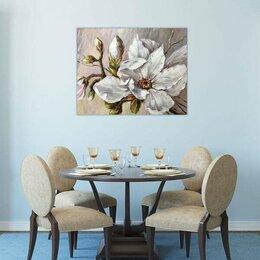 """Картины, постеры, гобелены, панно - Картина абстрактная """"Белые жемчужинки"""", 0"""