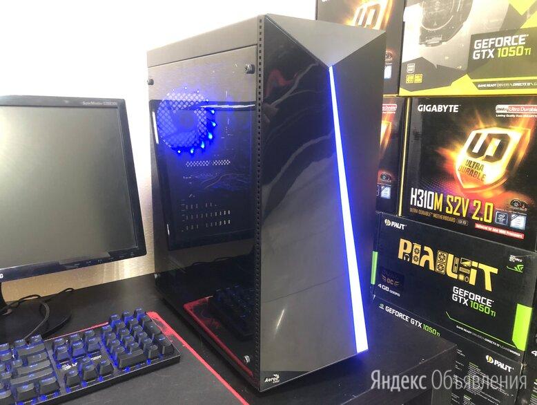 Современный игровой Core i5-8400 (6 ядер / DDR4 / GTX1050Ti) по цене 41990₽ - Настольные компьютеры, фото 0