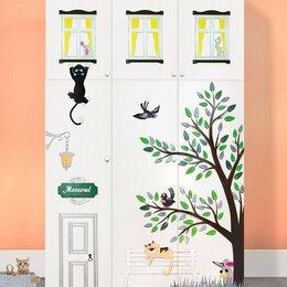 Шкафы, стенки, гарнитуры - Дизайнерский детский шкаф с объемной отделкой, 0