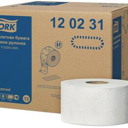 Туалетная бумага и полотенца - Двухслойная туалетная бумага Focus, Tork T2 170м, 0