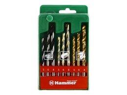 Для дрелей, шуруповертов и гайковертов - Набор сверл Hammer 202-909 DR No9, 0