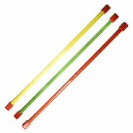 Аксессуары - Гимнастическая палка (бодибар) 3 кг 120 см зеленый, 0