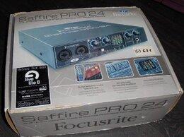 Оборудование для звукозаписывающих студий - Внешняя звуковая карта Focusrite Saffire Pro 24 , 0
