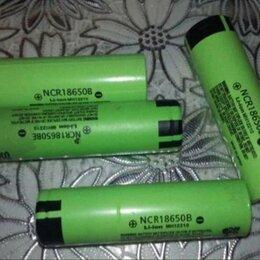 Аккумуляторы и зарядные устройства - Li-Ion аккумуляторы NCR 18650 B, 0