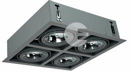 Люстры и потолочные светильники - Внутренние Встраиваемые 4-х Ламповые SNS 400 12 B, 0