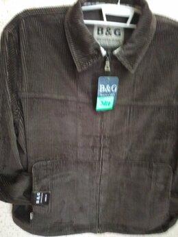 Куртки - Новая ветровка из коричневого хб вельвета 34…, 0