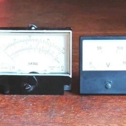 Измерительные инструменты и приборы - Вольтметры, 0