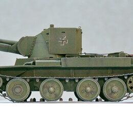 Сборные модели - 1/35 модель танка 114 мм САУ БТ-42 Финляндия, в масштабе 1/35  , 0