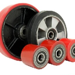 Грузоподъемное оборудование - Колеса и ролики для тележек. Колесная опора, 0
