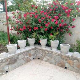 Садовые фигуры и цветочницы - Вазон бетонный, 0