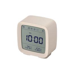 Часы настольные и каминные - Будильник Xiaomi Qingping Bluetooth Alarm Clock бежевый, 0