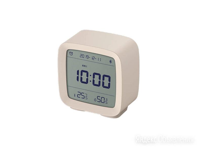 Будильник Xiaomi Qingping Bluetooth Alarm Clock бежевый по цене 1100₽ - Часы настольные и каминные, фото 0
