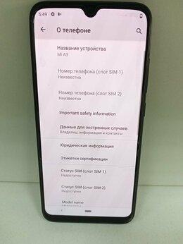 Мобильные телефоны - Телефон Xiaomi Mi A3 , 0